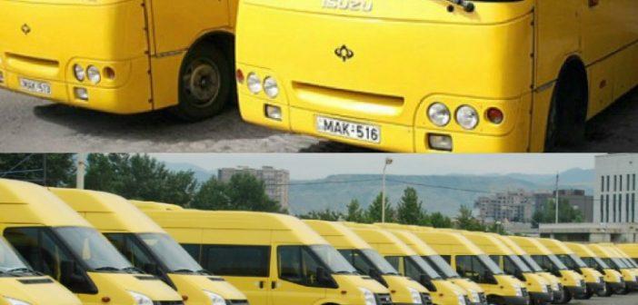 """""""200-მდე ყვითელმა მიკროავტობუსმა და 100-მდე ავტობუსმა ტექდათვალიერება ვერ გაიარა"""""""