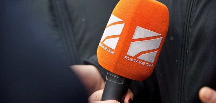 """""""რუსთავი 2""""-ის ჟურნალისტები ქიბარ ხალვაშს განცხადებით მიმართავენ"""