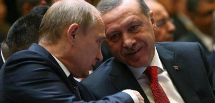 თურქეთის პრეზიდენტი რუსეთში ჩადის – პუტინი და ერდოღანი სირიის საკითხს განიხილავენ