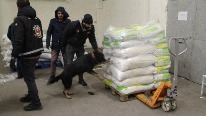თურქეთიდან საქართველოში 2 ტონაზე მეტი მარიხუანას შემოტანის მცდელობა აღკვეთეს (ფოტო)